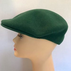 Kangol Mens Kelly Green Wool Hat Size Med
